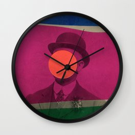 Magritte Wall Clock