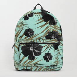 Tropical Diamond Flowers #3 #shiny #chic #floral #palms #decor #art #society6 Backpack
