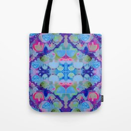 Staycation (blue) Tote Bag