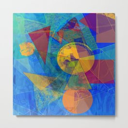 Modern Abstract Metal Print