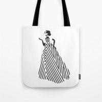 dress Tote Bags featuring Dress by Yordanka Poleganova