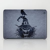 witch iPad Cases featuring witch by Erdogan Ulker
