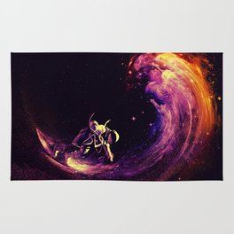 Space Surfing Rug