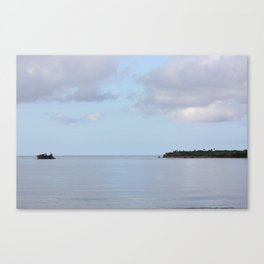 Treasure Island Photo Canvas Print