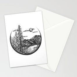 Moscow Mountain and White Pine Stationery Cards