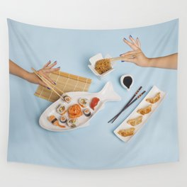 Sushi for one Wall Tapestry