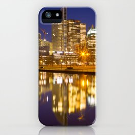City of The Hague, The Netherlands at night iPhone Case