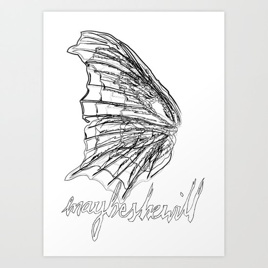 MSW Wing #01 Art Print