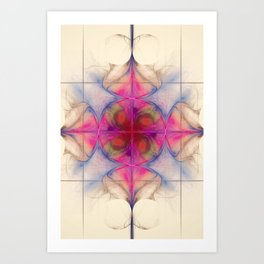 The Cross of Change Nebula Art Print