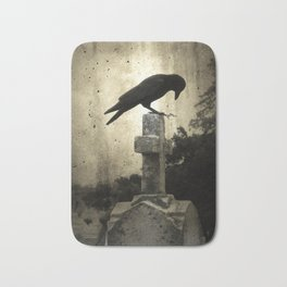 The Crow's Cross Bath Mat