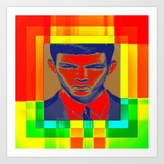 necktie Art Print