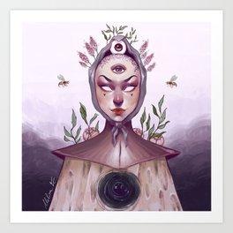 Milkyrat's OC Redraw Art Print