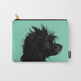Zelda the Chinese Crested Powderpuff Carry-All Pouch