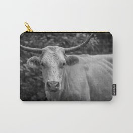 Stare at the bull, get the horns Carry-All Pouch