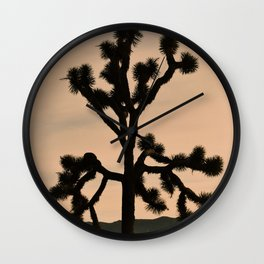 JOSHUA TREE - VINTAGE CALIFORNIA Wall Clock