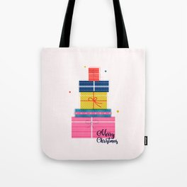 Pile of christmas presents Tote Bag