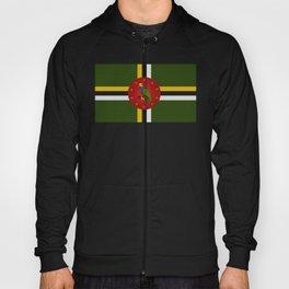 Dominica Flag Hoody
