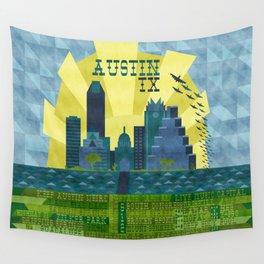 I love Austin, TX Wall Tapestry