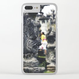 Temple 3000 Clear iPhone Case