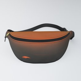 cloudy sunset seascape Fanny Pack