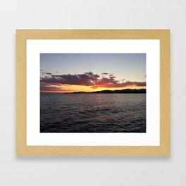 Ocean Calm III Framed Art Print