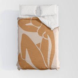 Henri Matisse Print - Abstract Art Poster -  Nude Minimalist Illustration LADY KNELT   large matisse   Modern Art   Nude Art   Feminist Comforters