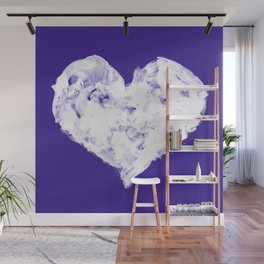 Feel in Watercolour: Violet Wall Mural