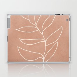 Engraved Leaf Line Laptop & iPad Skin