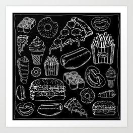 FOOD Kunstdrucke