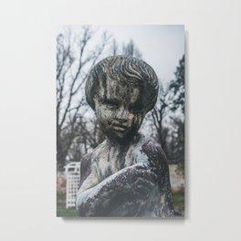 Garden Child Metal Print