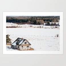 Usona Farm-house 6 Art Print