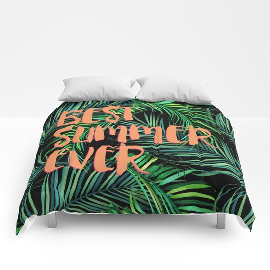 BEST summer ever Comforters
