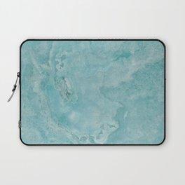 Turquoise Sea Marble Laptop Sleeve