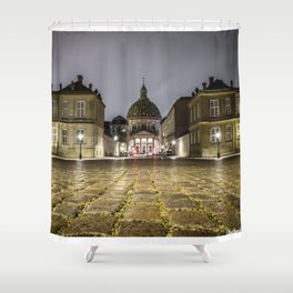 Low Angle shot Shower Curtain