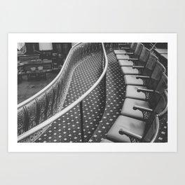 The Gallery Seats Art Print