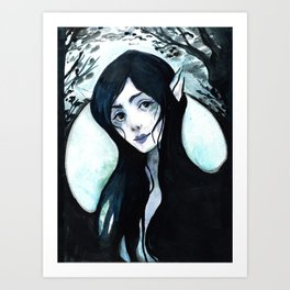 Cover of Darkness Art Print