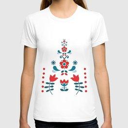 Retro Nordic Folk T-shirt