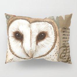 The Barn Owl Journal Pillow Sham
