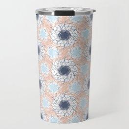 Sketched Spirals Travel Mug