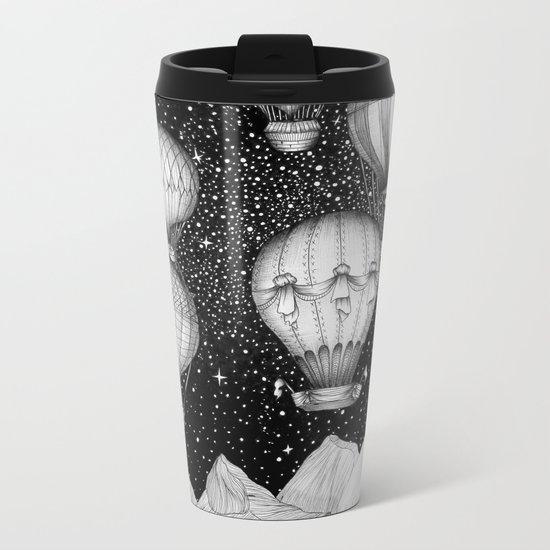 Night Flight Metal Travel Mug