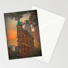 Gooderham Building - Toronto, Canada Stationery Cards