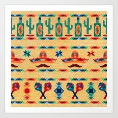 Agave Pattern Art Print