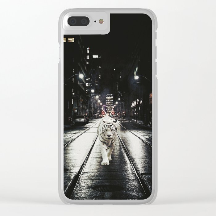 Night Watcher Clear iPhone Case
