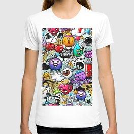graffiti fun T-shirt