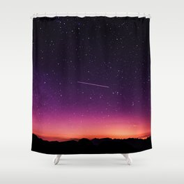 Shooting Stars Shower Curtain