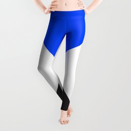 Minimal X Blue Leggings