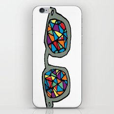 staned glass iPhone & iPod Skin