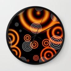 Disco Glow.  Wall Clock