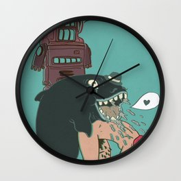 Sir: I got your letter and was glad to find you had not forgotten Wall Clock