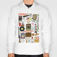 royal tenenbaums Hoodies featuring The Royal Tenenbaums by Shanti Draws
